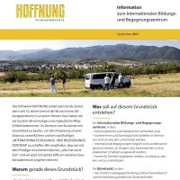 Bildungszentrum Newsletter, Sept. 2017